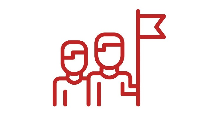 icon of people exploring